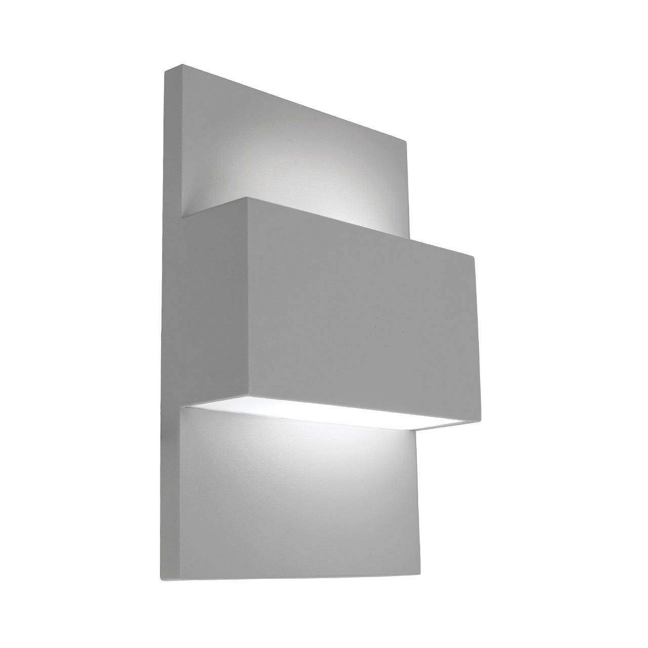 Applique Extérieure Eclairage Haut Et Bas applique rectangulaire extérieure murale éclairage haut et