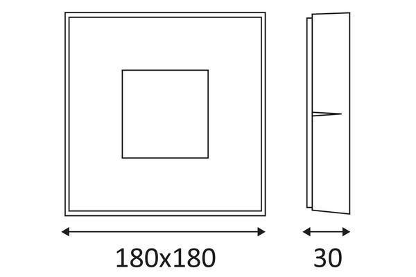 plafonnier ext rieur gris led pour clairer une terrasse une entr e ou un pool house skip led. Black Bedroom Furniture Sets. Home Design Ideas