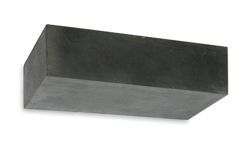 Applique en b ton concrete rectangulaire led pour - Applique murale pour salle a manger ...