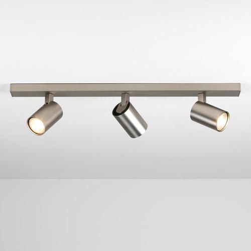 plafonnier pour clairage de salle bain led ascoli triple nickel mat de chez astrolighting 219. Black Bedroom Furniture Sets. Home Design Ideas