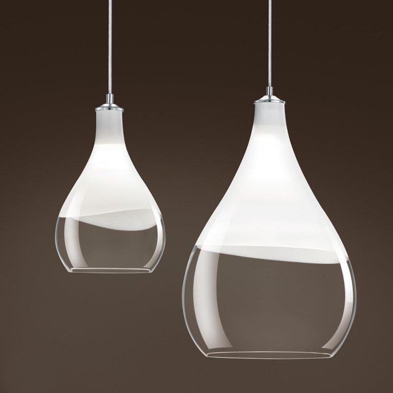 suspension en forme de goutte en verre pour clairer au. Black Bedroom Furniture Sets. Home Design Ideas
