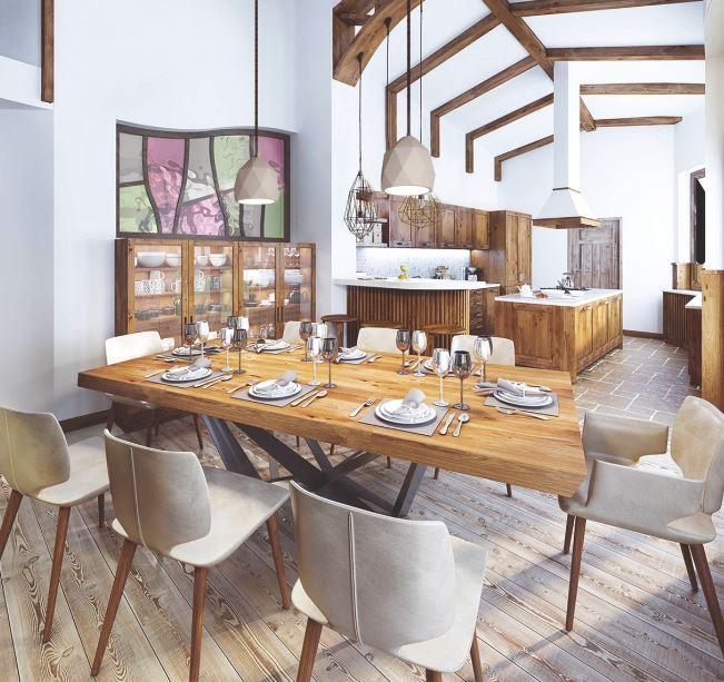 suspension en b ton pour clairer au dessus d 39 une table de. Black Bedroom Furniture Sets. Home Design Ideas