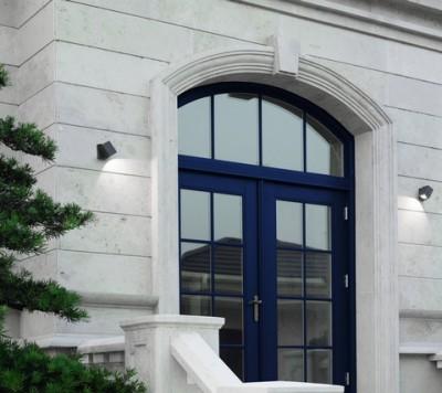 spot ext rieur mural pour clairer les fa ades luxi100 led 89 clairage professionnel. Black Bedroom Furniture Sets. Home Design Ideas