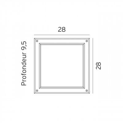plafonnier pour terrasse entr es et pool house led nordland par norlys clairage 119. Black Bedroom Furniture Sets. Home Design Ideas