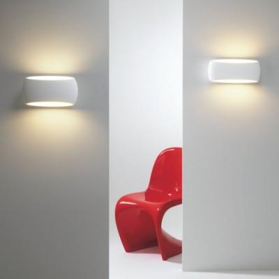Applique en plâtre Aria 300 pour éclairer une chambre à coucher
