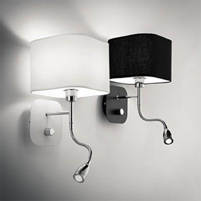 Applique pour éclairer une tête de lit aApplique pour éclairer une tête de lit avec liseuse pour chambre à coucher