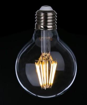 Ampoule globe avec filaments à led pour éclairage de cuisine