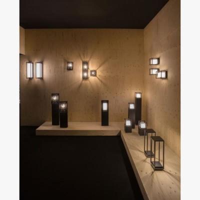 applique pour clairage de salle manger et salon deltalight montur s led 6 3w noire 389 ttc. Black Bedroom Furniture Sets. Home Design Ideas