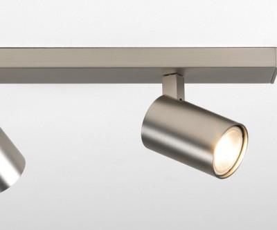 Plafonnier Ascoli nickel mat de chez Astrolighting