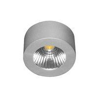 Spot design pour éclairer un dessous de meuble de cuisine ou de salle de bain Eva argent par Indigo Lighting