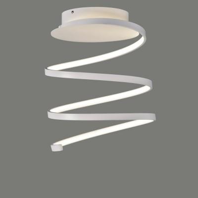Plafonnier à led blanc en forme de spirale de la marque acbiluminacion Belenus