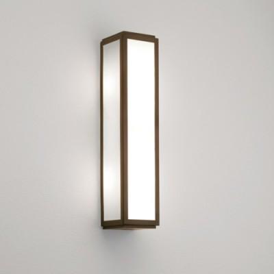 Applique bronze pour éclairage de salle de bain