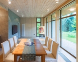 Réglette de 3 spots à led en applique ou en plafonnier pour éclairer une salle à manger ou un salon