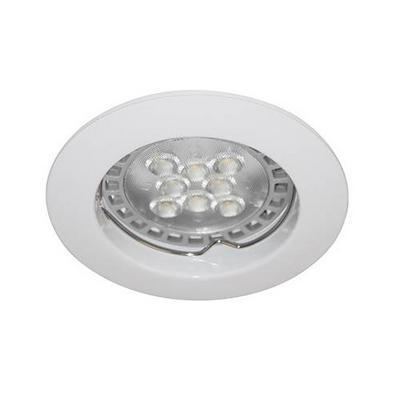 Spot blanc fixe KSA100204 GU10 douille automatique pour encastrer au plafond de la marque Indigo Lighting 3.95€ ttc