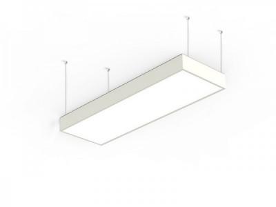 Suspension à led blanche de la marque BPM Lighting pour éclairer un dessus de comptoir ou de bureau Alabama s-light square