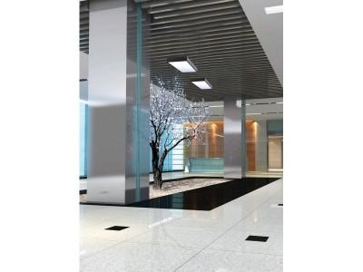 Suspension à led noire de la marque BPM Lighting pour éclairer un dessus de comptoir ou de bureau Alabama s-light square