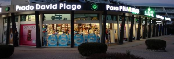 éclairage d'une pharmacie sur marseille